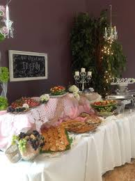 Shabby Chic Wedding Reception Ideas by Shabby Chic Reception Food Table Sassy Events Showers