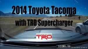 dealer toyota 2014 toyota tacoma with trd supercharger dealer installed youtube