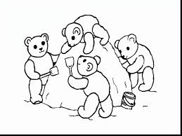 100 polar bears coloring pages printable polar bear coloring