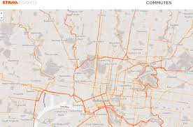 Mapping A Route by Melbourne Map Of Key Cycling Transport Routes Infrastructure And