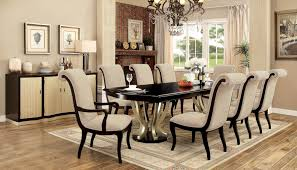 ornette table cm3353t furniture of america dining table sets at