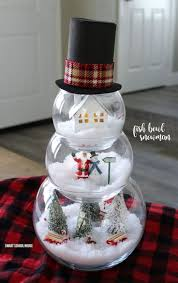 Homemade Christmas Decorations by Best 25 Indoor Christmas Decorations Ideas Only On Pinterest
