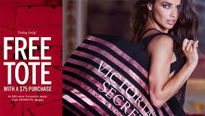 victoria secret free tote bag black friday victoria secret free bag with 75 purchase the best bag collections