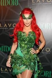 Poison Ivy Halloween Costume Kids Kim Kardashian Kendall Kylie Jenner U0027s Throwback