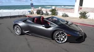 Lamborghini Huracan 2016 - lamborghini huracán spyder convertible in action youtube