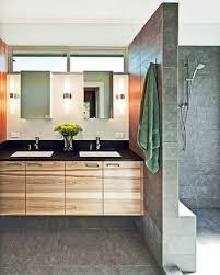 bathrooms elegant modern floating vanity design ideas bath light