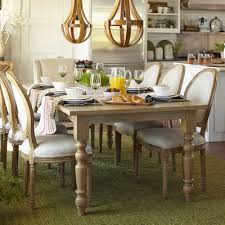 Torrance  Natural Whitewash Turned Leg Dining Table Pier - Pier one dining room sets