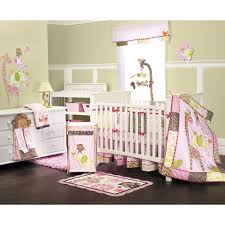 Monkey Crib Set Girls Monkey Crib Bedding Monkey Nursery And Babies