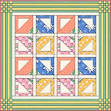 Easy Doll & Baby Pieced Basket Quilt Patterns from the 1930s