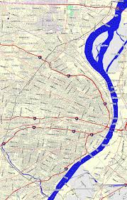 Big Map Of The United States by Bridgehunter Com St Louis Missouri