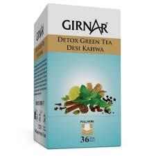 girnar detox green tea 36 teabags amazon in grocery u0026 gourmet