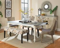 Metal Dining Room Chair Matisse Antique White Dining Table With Galvanized Metal Top For