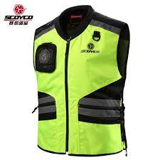 fluorescent bike jacket cycling reflective clothing reflective vest safety clothing to