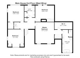East Wing Floor Plan by 16 Saddlebrook Rd Natick 01760