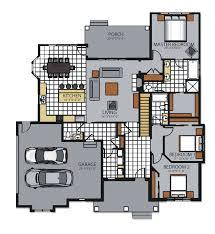 Custom Ranch Floor Plans Custom Family Ranch