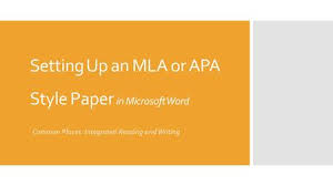 amp  amp  amp How to write an apa paper with microsoft word      amp  amp  amp  word    firstpage
