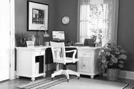a home office with corner desk the area rug goes up to feet trends