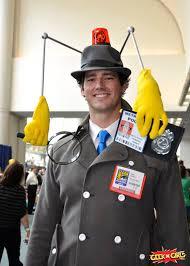 Security Guard Halloween Costume 20 Inspector Gadget Ideas Guy Halloween