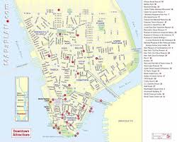 Central Park New York Map by Maps Of New York Top Tourist Attractions Free Printable