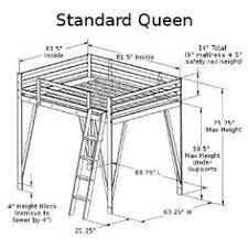Wood Loft Bed Plans by Top 25 Best Twin Size Loft Bed Ideas On Pinterest Bunk Bed