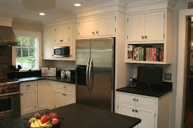 Small Kitchen With White Cabinets Furniture Interesting Small Kitchen Design With Cozy Soapstone