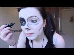 black parade inspired makeup halloween 2015 youtube