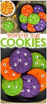 Halloween Cake Mix Cookies by Halloween Monster Eye Cookies Parenting Chaos