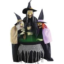 stitch witch sisters animated halloween decoration walmart com