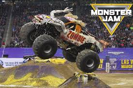 racing monster trucks u s bank arena monster jam