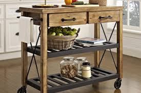 Kitchen Mobile Island Industrial Kitchen Island Exposed Steel Structure Residential