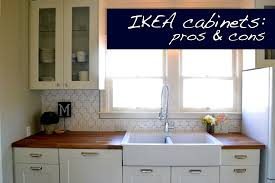 A Home In The Making Renovate Pros And Cons Of IKEA Cabinets - Cabinets ikea kitchen
