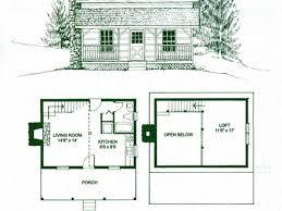 cabin floor plans with loft small homeca