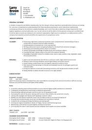 Pastry Chef Resume Examples by Restaurant Resume Sample Resume Cv Cover Letter Brilliant Ideas