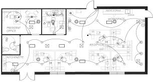 commercial electrical plan commercial and corporate offices