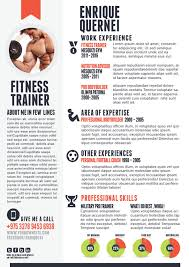 Personal Trainer Resume Example No Experience by Fitness Trainer Resume Resume Inspiration Pinterest