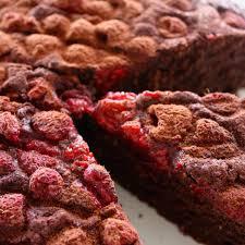 easy bowl chocolate raspberry cake small steps living