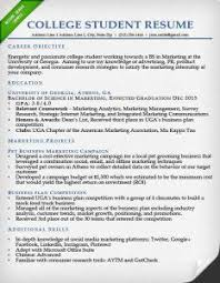 Best Resume Format For College Students by Education Section Resume Writing Guide Resume Genius
