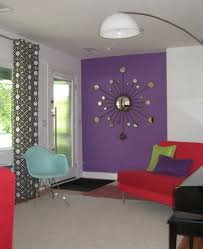 Lavender Rugs For Girls Bedrooms Interesting Decorating With Lavender Color Walls With Red Sofa