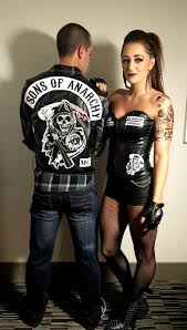 sons of anarchy halloween costume fashion pinterest