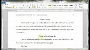 Create an APA style title page using Microsoft Word      quick     Template   Just another WordPress site