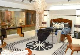 art deco bedroom designs with art deco furniture and chandelier