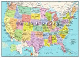 Map Of America With States by Amazon Com United States Of America Map 1000 Piece Jigsaw Puzzle