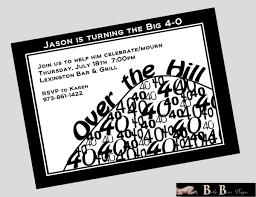 Free Printable Birthday Invitation Cards With Photo Free Printable 40th Birthday Invitations Cards
