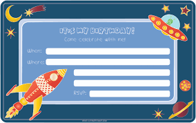 Birthday Invitation Cards For Kids Card Invitation Design Ideas Free Birthday Cards Fmhrckaw Blue