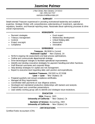 Job Resume Sample Malaysia by Best Treasurer Resume Example Livecareer