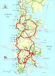 Phuket - Map of Phuket Island - Thailand
