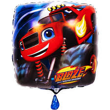 blaze monster machines foil balloon birthdayexpress