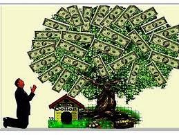 maranata - buscando dinheiro e poder