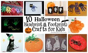 Halloween Crafts For Kid by 10 Halloween Handprint Crafts For Kids Roundup