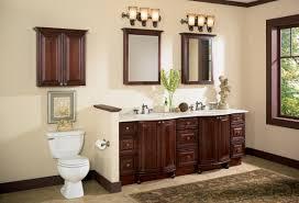 bathroom decoration using cream bathroom wall paint including